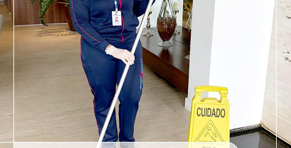 A Importância da limpeza no ambiente de trabalho
